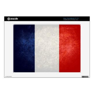 Bandera de Francia; Acer Chromebook Calcomanías