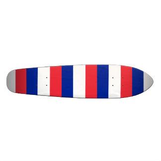 """Bandera de Francia, bandera nacional tricolora Patineta 8 1/8"""""""