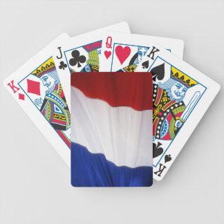 Bandera de Francia Baraja Cartas De Poker