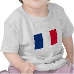 Bandera de Francia Camiseta