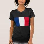 Bandera de Francia Camisetas