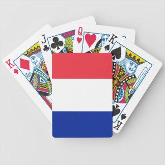 Bandera de Francia Cartas De Juego