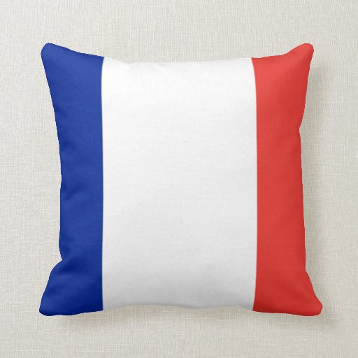 Bandera de Francia Cojines