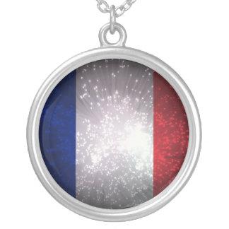 Bandera de Francia Colgante Redondo