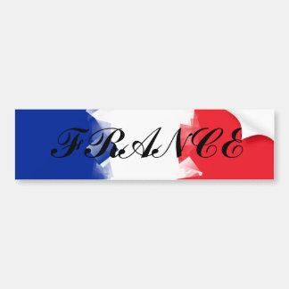 Bandera de Francia cúbica Pegatina Para Auto