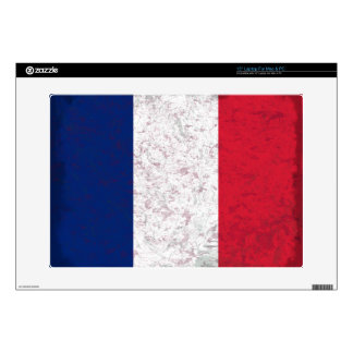Bandera de Francia del la de Pavillon de Francia Calcomanía Para 38,1cm Portátil