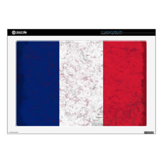 Bandera de Francia del la de Pavillon de Francia Skins Para 43,2cm Portátiles