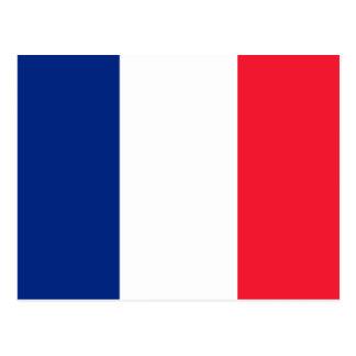 Bandera de Francia del la de Pavillon de Francia Postales