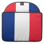 Bandera de Francia Fundas Para Macbooks