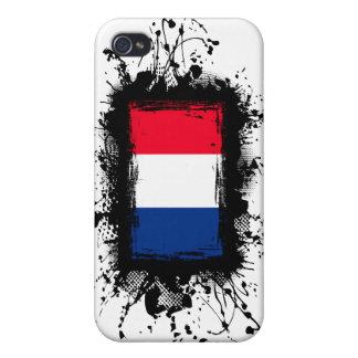 Bandera de Francia iPhone 4/4S Carcasas