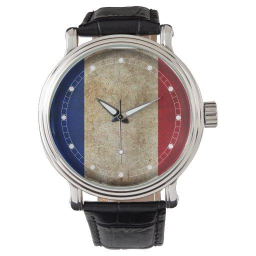 Bandera de Francia (modelos múltiples) Relojes De Mano