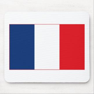 Bandera de Francia Mousepad ligero Alfombrilla De Ratón