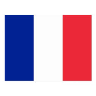 Bandera de Francia Postales