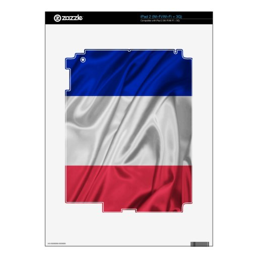 Bandera de Francia Skins Para eliPad 2