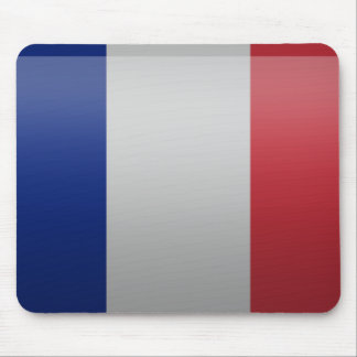 Bandera de Francia Tapete De Ratones