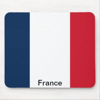 Bandera de Francia Alfombrilla De Ratón
