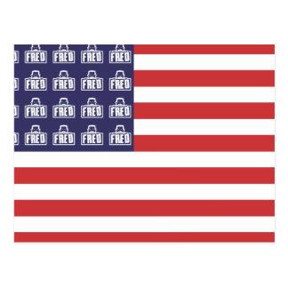 Bandera de Fred Postales