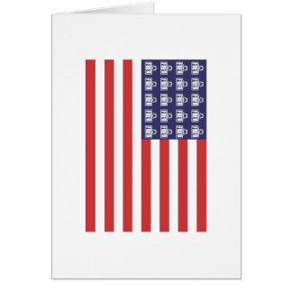 Bandera de Fred Tarjeta De Felicitación