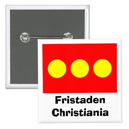 Bandera de Freetown Christiania Pin