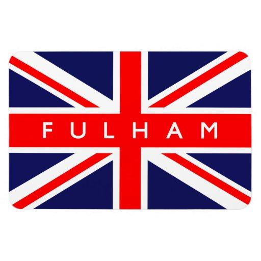 Bandera de Fulham Reino Unido Imán
