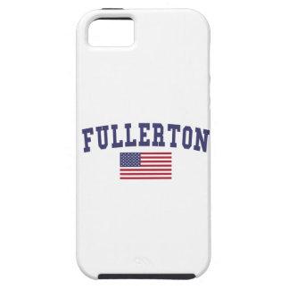 Bandera de Fullerton los E.E.U.U. Funda Para iPhone SE/5/5s