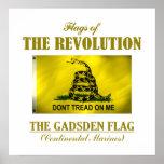 Bandera de Gadsden (FR) Impresiones