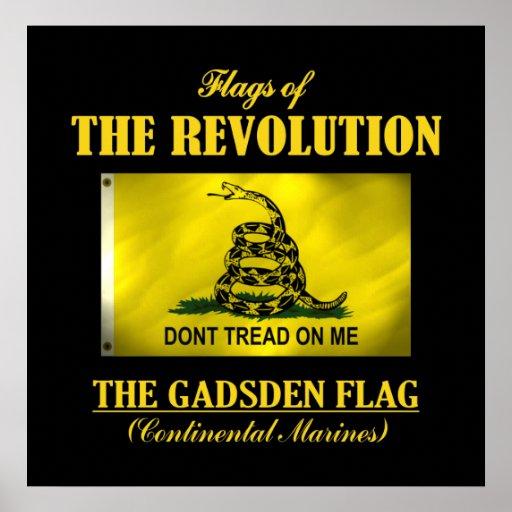 Bandera de Gadsden (FR) Posters