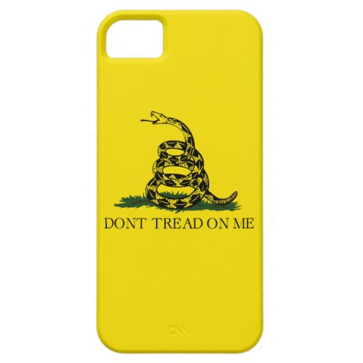 Bandera de Gadsden iPhone 5 Funda