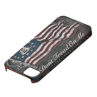 Bandera de Gadsden - libertad o muerte iPhone 5 Carcasa