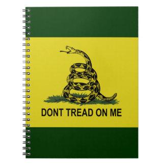 Bandera de Gadsden Cuaderno