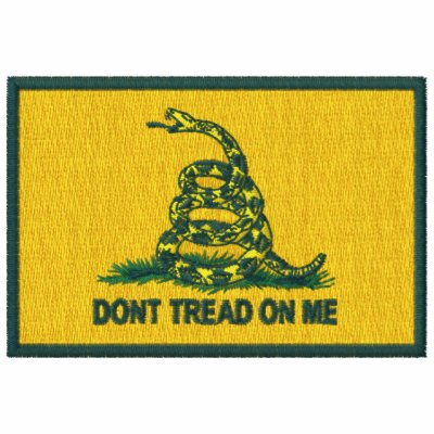 ¡Bandera de Gadsden - no pise en mí!