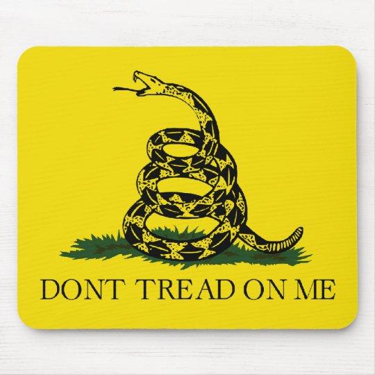 Bandera de Gadsden - no pise en mí Mouse Pads
