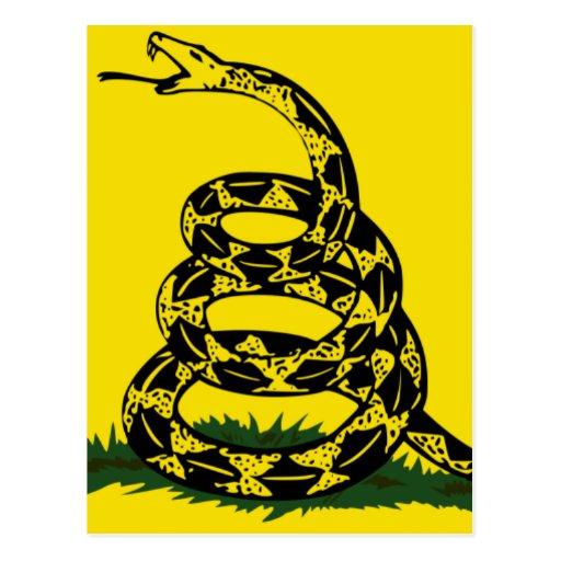 Bandera de Gadsden Postales