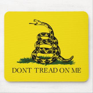 Bandera de Gadsden Mouse Pad