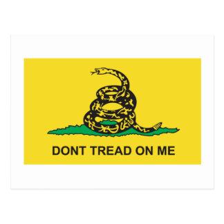 Bandera de Gadsden Tarjetas Postales