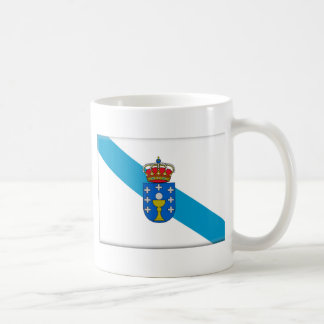 Bandera de Galicia (España) Tazas