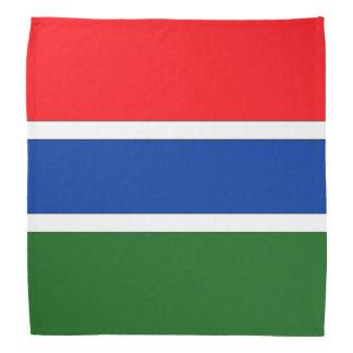 Bandera de Gambia Bandana