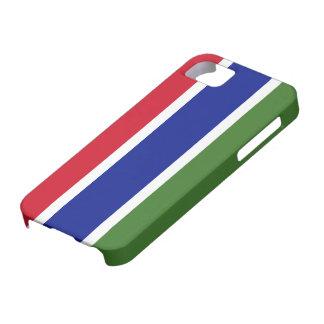 Bandera de Gambia Funda Para iPhone 5 Barely There