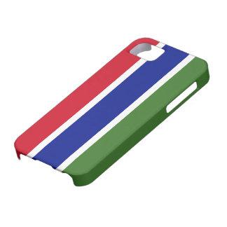 Bandera de Gambia iPhone 5 Fundas