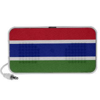 Bandera de Gambia Portátil Altavoz
