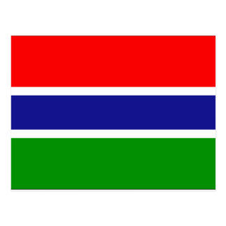 Bandera de Gambia Tarjetas Postales