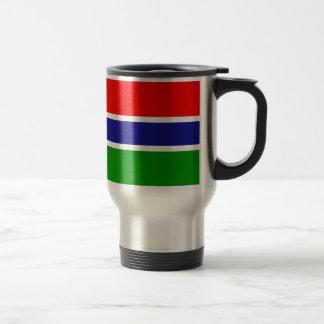 Bandera de Gambia Taza De Viaje