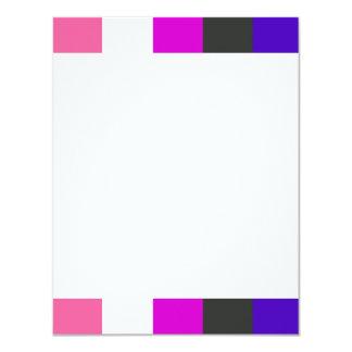 """Bandera de Genderfluid Invitación 4.25"""" X 5.5"""""""