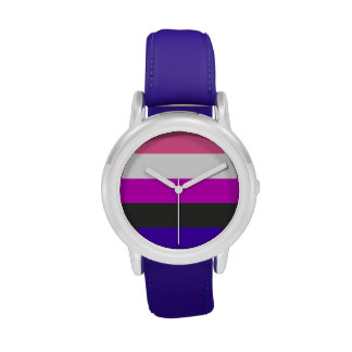Bandera de Genderfluid Reloj