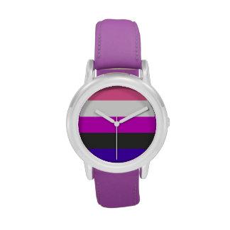 Bandera de Genderfluid Relojes De Mano
