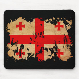 Bandera de Georgia Alfombrillas De Ratones