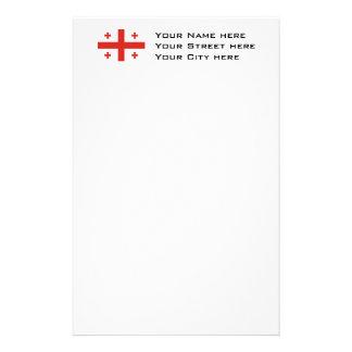 Bandera de Georgia Papeleria Personalizada