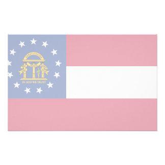 Bandera de Georgia Papelería De Diseño