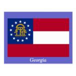 Bandera de Georgia Postales