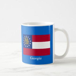 Bandera de Georgia Taza Clásica